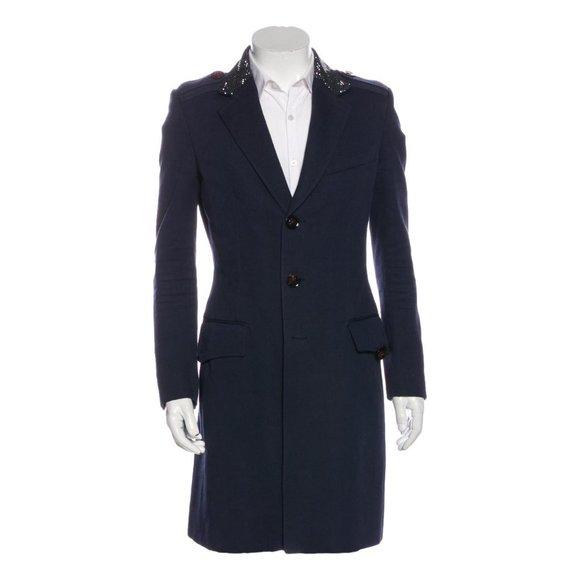 Burberry Prorsum Spring 2007 Crystal Collar Coat